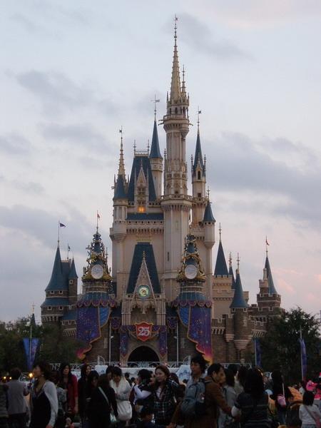 城堡正面近拍