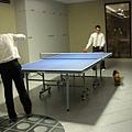 還有乒乓球可以玩喔