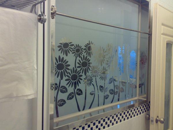 從浴室往外看的樣子
