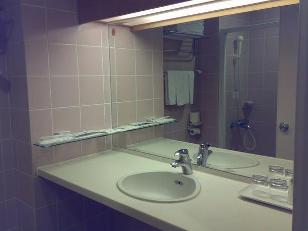 浴室,有乾溼分離,蓮蓬頭用起來還滿舒服的