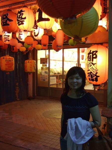 天后宮旁街上的燈籠店