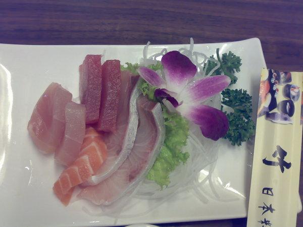 竹壽司之綜合生魚片