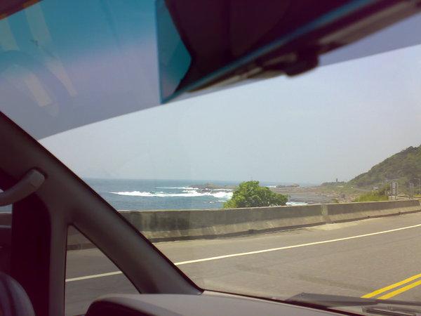 濱海公路的太平洋二