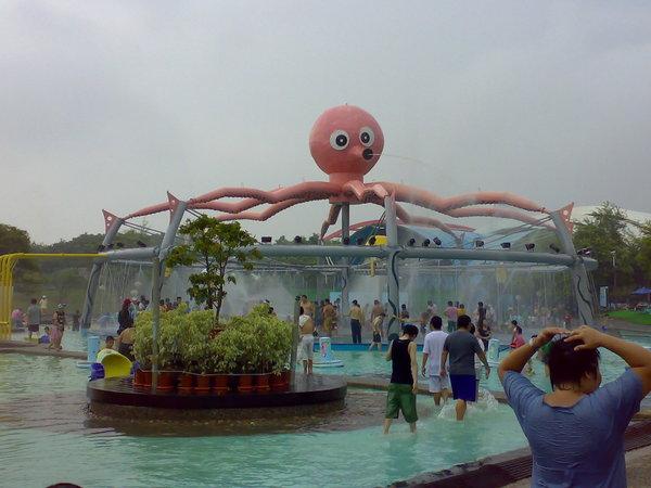 光看這隻章魚就覺得很歡樂