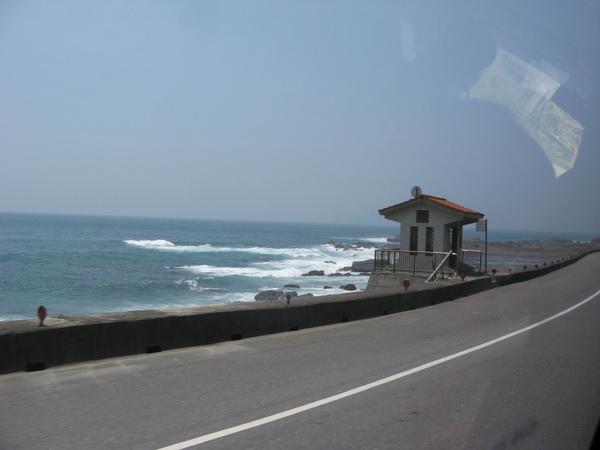 濱海公路的太平洋一