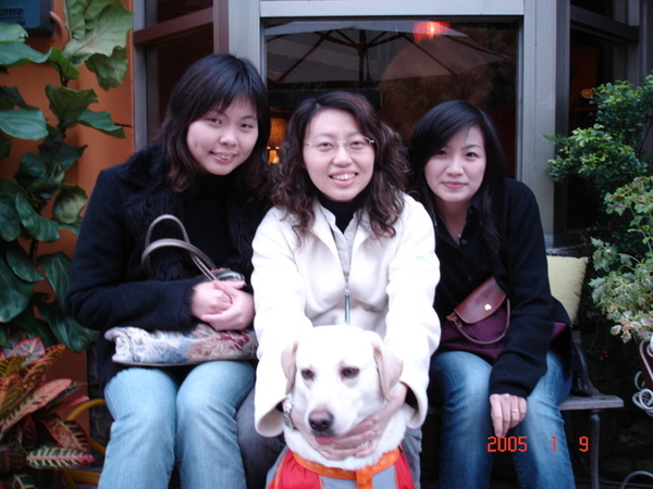咕嚕、怡萍媽媽和嘰嘰喳喳姊姊