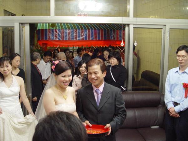 2004年10月雅馨婚禮