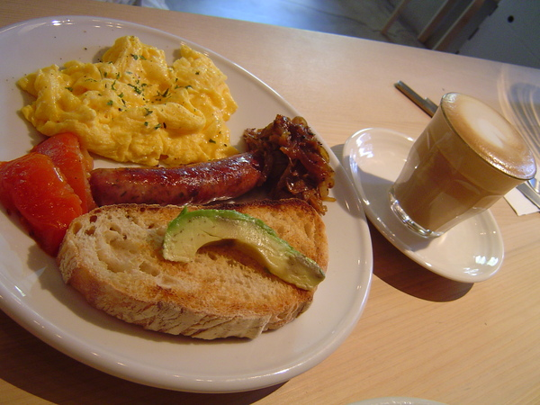 沐露經典早午餐(炒蛋)