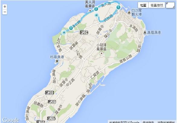 小琉球環島路線參考.jpg