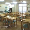 平野男子宿舍--食堂