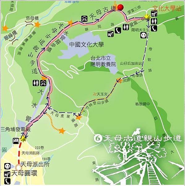 天母水管路地圖