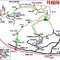 丹鳳山步道地圖