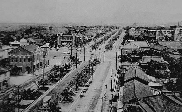 日治時期台北三線路 圖資來源 維基共享.jpg