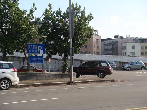 林森路右轉自由路後左撤廣八停車場.JPG