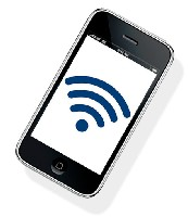 iPhone-with-WiFi-Logo