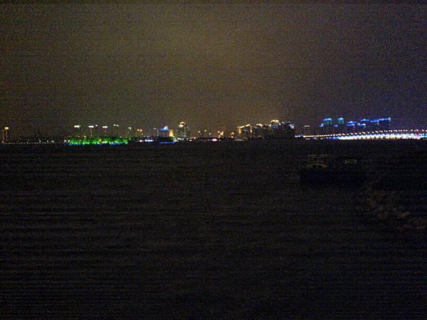 從蘇科藝文看金雞湖夜景.JPG