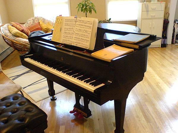 姐的寶貝的史坦威鋼琴.JPG