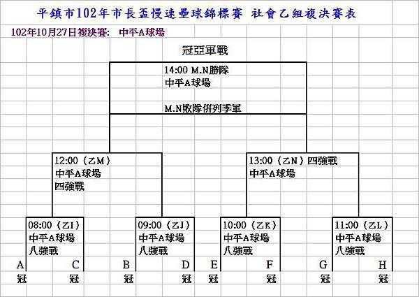 102平鎮市社會乙組賽程表2(修)