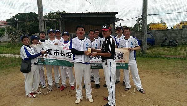 103中壢市長盃青壯組季軍01