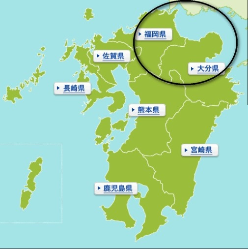 九州map
