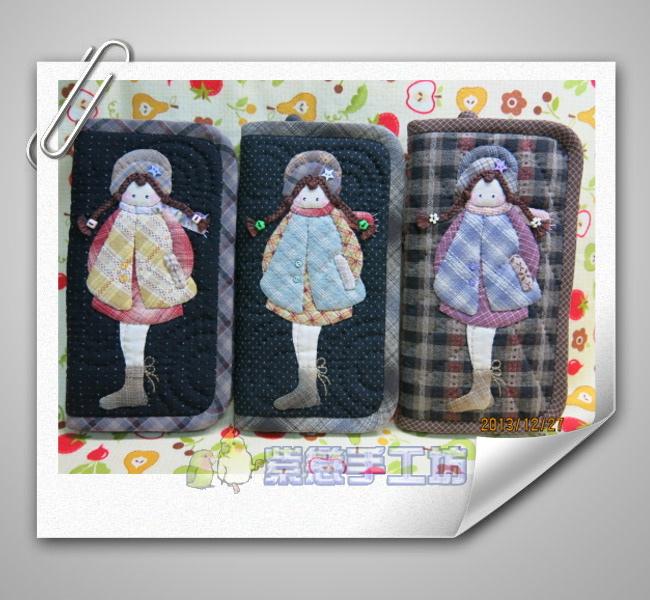 冬之娃長夾3個
