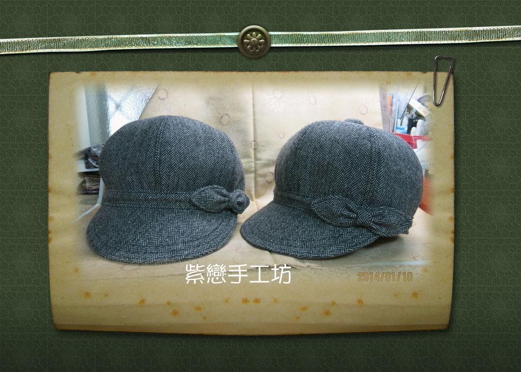 毛料-貝蕾帽3
