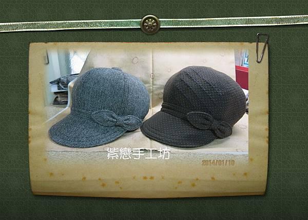 毛料-貝蕾帽2