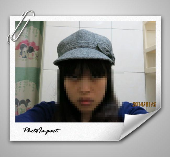 貝蕾帽.灰2