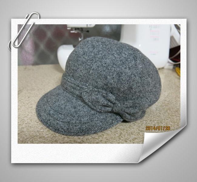 貝蕾帽.灰1