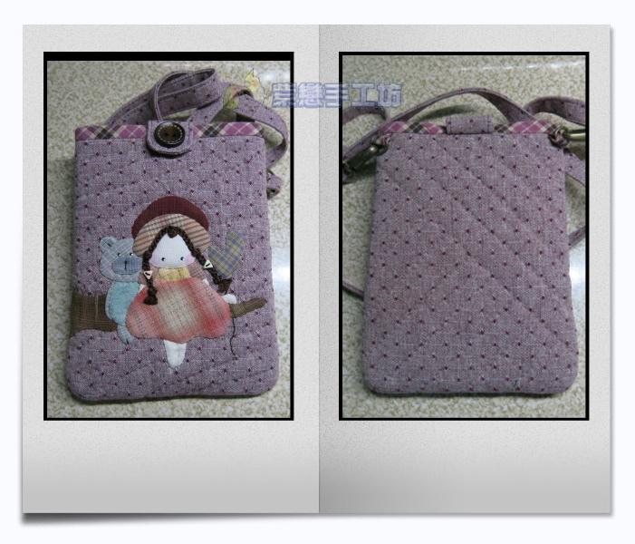 我的寵物日記-女孩與小熊~手機袋紫.jpg