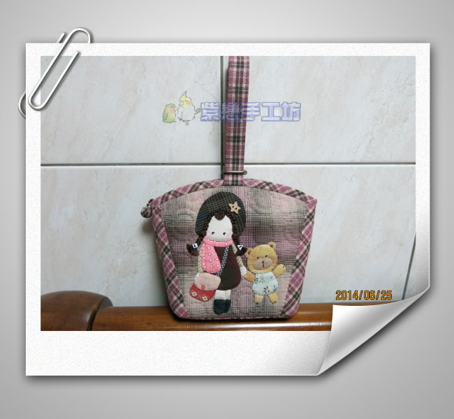 我的寵物日記~可愛的娃娃手拿包1