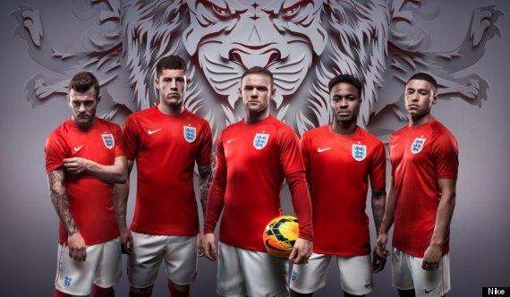 英格蘭球衣照