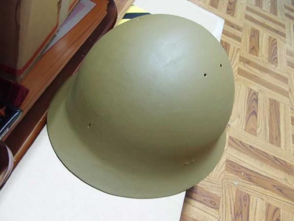 日軍鐵帽翻修過程-7