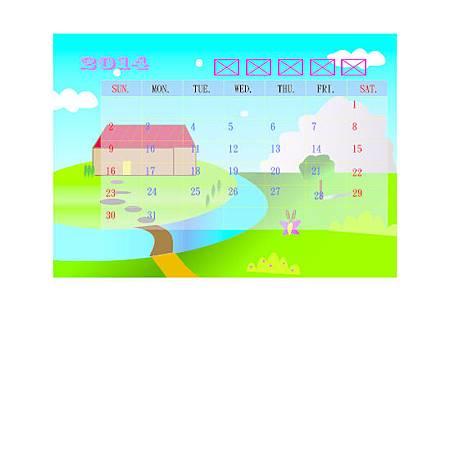 蔡佳伶_月曆底