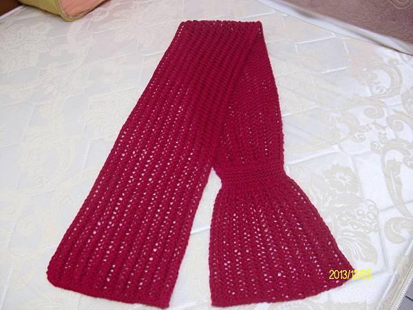 兩用圍巾 002