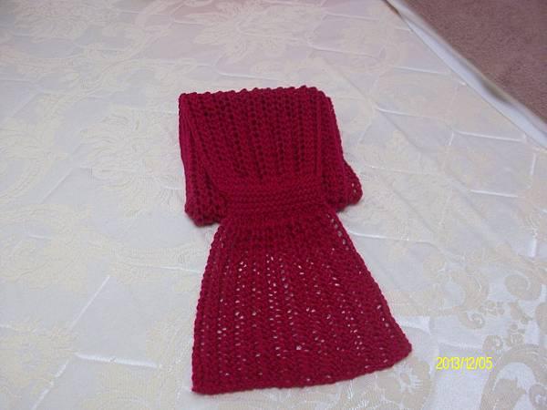 兩用圍巾 003
