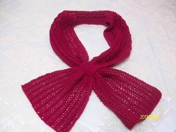兩用圍巾 004