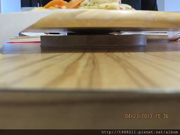 木質pizza轉盤