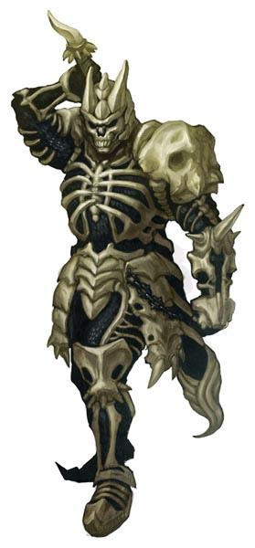 穿成這樣,你也可以成為「強勁猛」的骷髏騎士