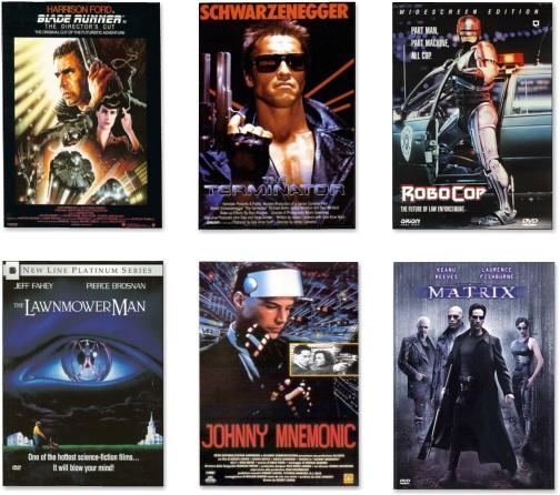 Cyberpunk類型的著名電影