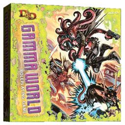Gamma World 遊戲外盒