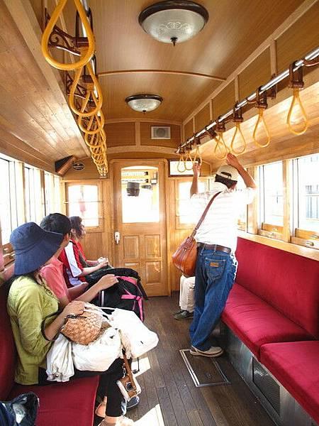 古色古香的電車