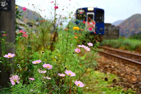 進站的列車
