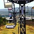 下山的吊椅