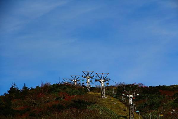 回首刈田岳山頂