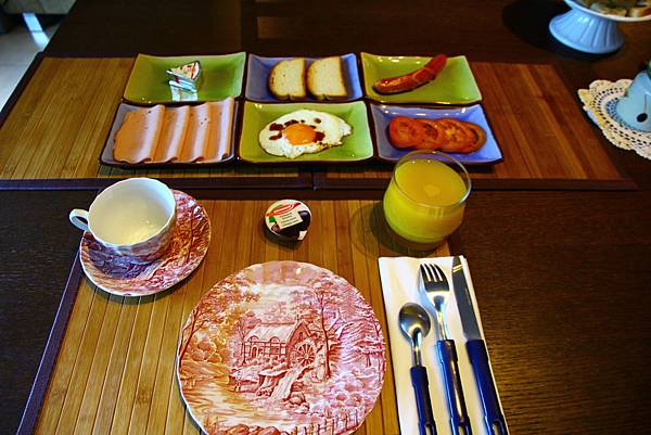 Ricky精心準備的早餐