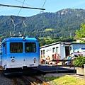 往RIGI的登山火車