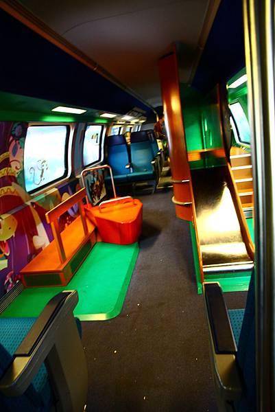 火車上的遊樂室