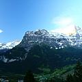 清晨的Grindelwald