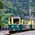 前往Kleine Scheidegg的列車